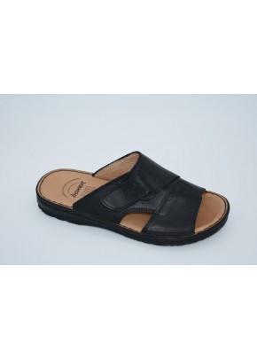 andrikes pantofles mavres