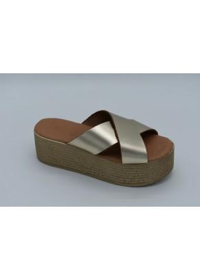 Γυναικεια Παπουτσια - gynaikeia flatforms - b2a - xruso