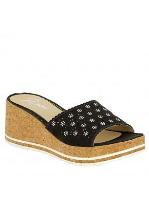 Γυναικεια Παπουτσια - gynaikeies pantofle platformes mavres