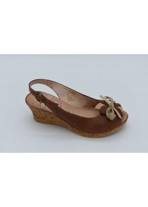 Γυναικεια Παπουτσια - gynaikeies peep toe platformes dermatines tampa me mpez leptomereia