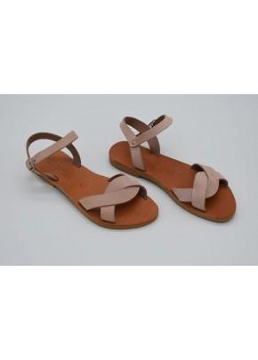 Γυναικεια Παπουτσια - gynaikeia sandalia se nude