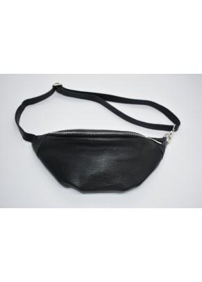 Unisex Τσάντα Μέσης - M43001 - Μαύρο